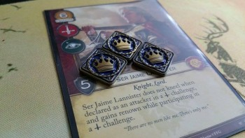 A Game Of Thrones LCG Premium Power Tokens (15)