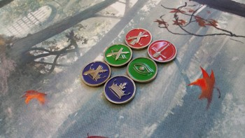 A Game of Thrones LCG Premium Challenge Icon Tokens (3)