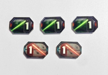 Star Wars Compatible 1-Damage Tokens
