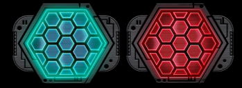 X-WING 2.0 COMPATIBLE FULL COLOR ACRYLIC SHIELD TOKENS (8-PACK)