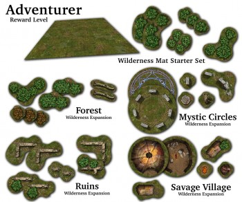Adventure Tiles: Wilderness Adventurer Pledge Level