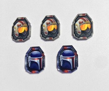 Star Wars Compatible Shield Tokens