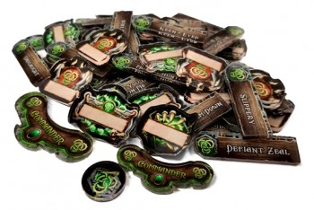 Officially Licensed Privateer Press Circle of Orboros Company of Iron Token Set