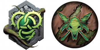 Privateer Press Licensed Hordes - Circle of Orboros Mercenaries and Minions Tokens Upgrade Set