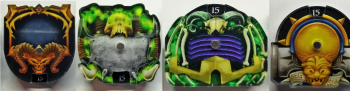 Age of Sigmar compatible dials (counts 1-15)