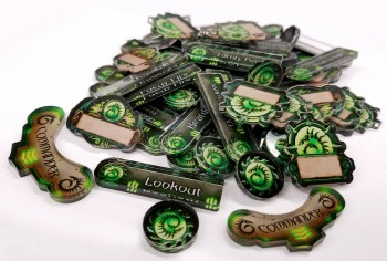 Officially Licensed Privateer Press Cryx Company of Iron Token Set