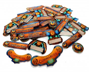 Officially Licensed Privateer Press Cygnar Company of Iron Token Set