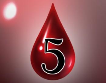 Elite Gaming Token (5 Pack) - Blood Drop 5