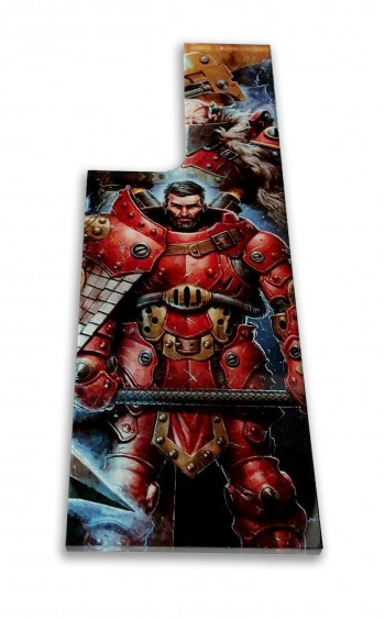 Privateer Press Licensed Khador Extended Measuring Template