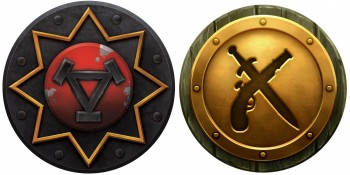 Privateer Press Licensed Warmachine - Khador Mercenaries and Minions Tokens Upgrade Set