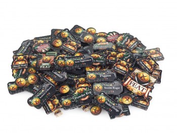 Privateer Press Licensed Warmachine - Mercenaries Faction Token Set