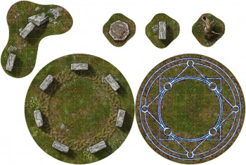 Adventure Tiles: Mystic Circles Expansion