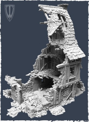 Tabletop World Ruined Townhouse