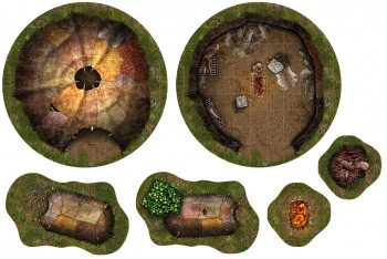 Adventure Tiles: Savage Village Expansion
