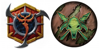 Privateer Press Licensed Hordes - Skorne Mercenaries and Minions Tokens Upgrade Set
