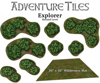 Adventure Tiles: Wilderness Explorer Pledge Level