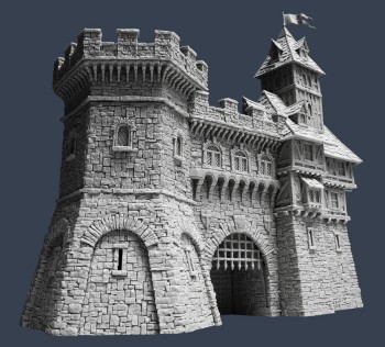 Tabletop World Town Gate