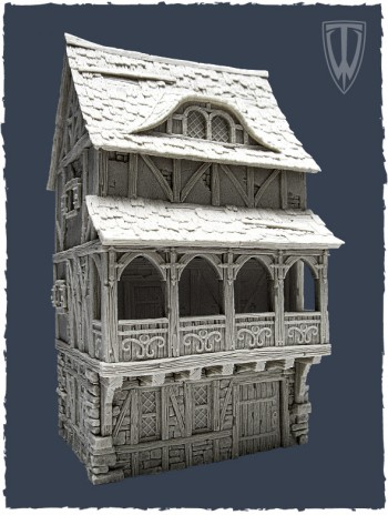 Tabletop World Townhouse II