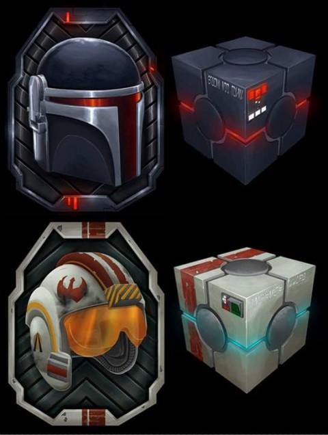 Broken Egg Games Destiny Token Sets Star Wars Broken