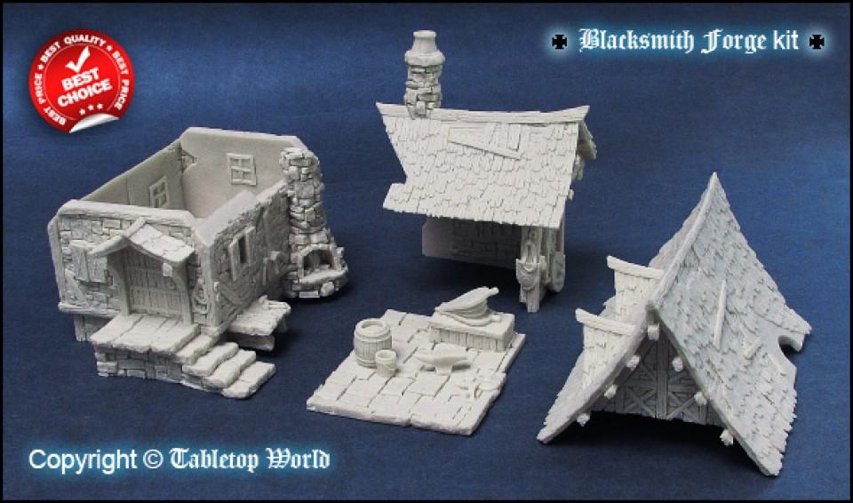 Broken Egg Games Tabletop World Blacksmith Forge
