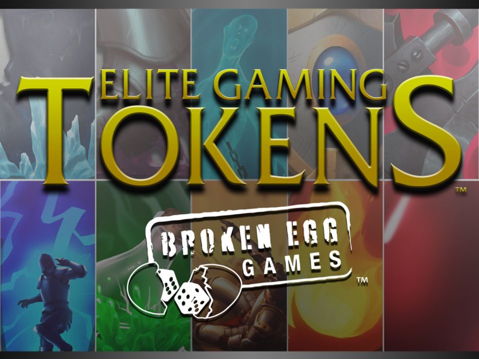 Broken Egg Games - Slow/Adhesive Token| Elite Gaming Token| Broken