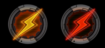 X-WING 2.0 COMPATIBLE FULL COLOR ACRYLIC CHARGE TOKENS (8-PACK)